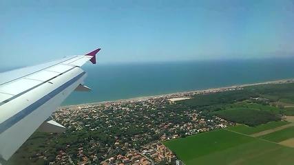 Красива гледка от самолета