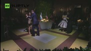 Obama Dances the Tango at State Dinner in Argentina
