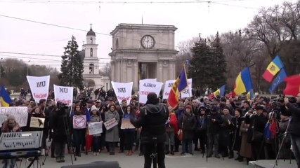 Moldova: Protesters call for annulment of presidential election result