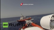 Italy: Coast Guard intercepts 120 migrants in the Med
