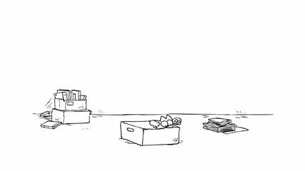 Котката на Симон - Кутията, смях, new