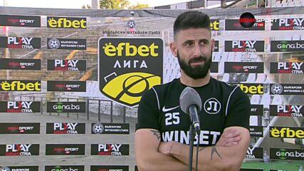 Димитър Илиев: Вече ще работим малко по-спокойно, не ми липсва самочувствие