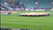 Химна на Лига Европа преди Лудогорец 3:3 Лацио!