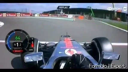 J.button pole lap Spa 2012