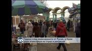 Година след анексирането в Крим цари атмосфера на страх и репресии