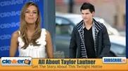 Taylor Lautner - Интересни Факти За Актьора ( Bg Subs)