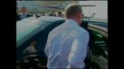 Iran: Putin and Lavrov arrive in Tehran to meet Rouhani ahead of GECF summit