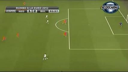 Холандия 1 - 2 България 26.05.2012 Луд коментатор