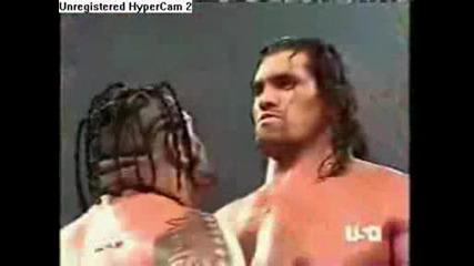 The Great Khali vs Umaga
