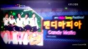 (hd) Candy Mafia - Honey Honey ( Thailand) ~ 2012 Asia Song Festival (24.08.2012)