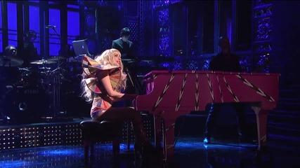 Lady Gaga - Gypsy ( Live on Saturday Night Live )