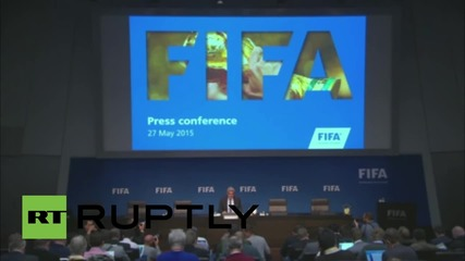 Switzerland: FIFA congress to take place despite officials being detained