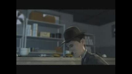 Чарли Чаплин - 3д Анимация