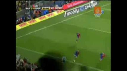 Barcelona 2 - 0 Real Madrid 13/12/2008