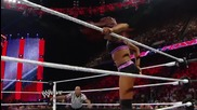 Nikki Bella vs. Alicia Fox & Cameron - 2-on-1 Handicap Match: Raw, July 14, 2014