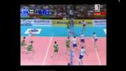 Волейбол : България - Русия - Точка за Русия