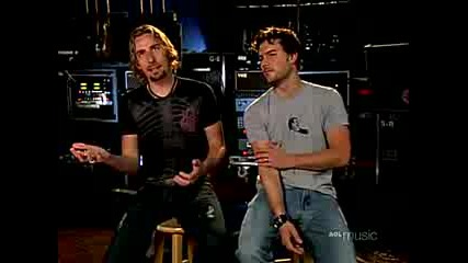 Nickelback - Interview (aol Sessions 2005)