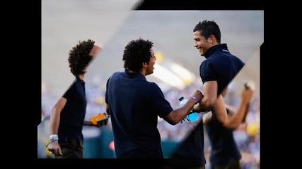 Най Доброто Приятелство в Футбола - Роналдо и Марсело !!