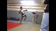 Спаринг Тренировка - Бойни Изкуства