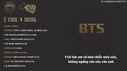 [vietsub] Bts - 2 Cool 4 Skool Full Album