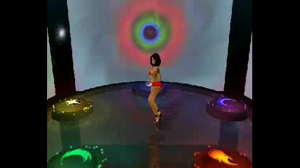 Sexy Virtual Girl Dancing