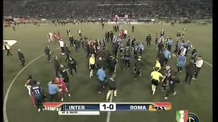 Coppa Italia Final - Inter - Roma Celebration