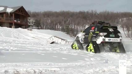 Ken Block's Track ski Car