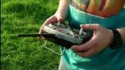 Лудак превръща мъртвата си котка в хеликоптер