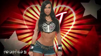 Aj Lee 4th Wwe Theme Song For 30 minutes - Let's Light It Up(w W E Edit)