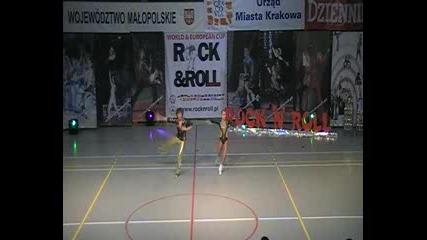 Acrobatic Rocknroll Dmitrij Levko Valeria Lipchevskaja