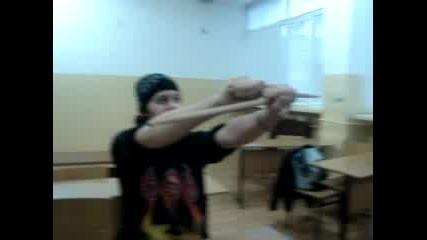 Барабанист В Училище