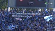Феновете на Левски продължават с провокациите към противника