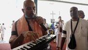 India: Krishna devotees march in Bangalore to decry violence against Hindus