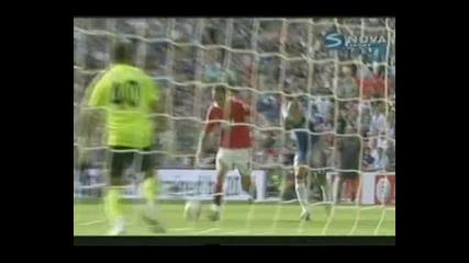 """Юнайтед триумфира с """"комюнити шийлд"""" след 3 - 1 над Челси, Бербатов с шедьовър"""