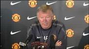Sir Alex Ferguson on Michael Carrick injury