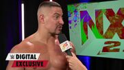 Bron Breakker is ready for a fight at Halloween Havoc: WWE Digital Exclusive, Oct. 19, 2021