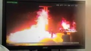 Пожар на бензиностанция в Оман