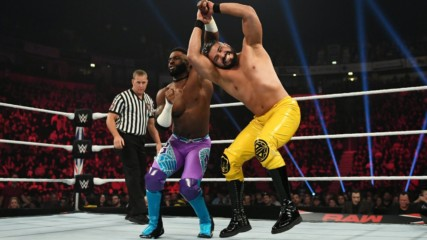 Cedric Alexander vs. Andrade: Raw, Nov. 11, 2019