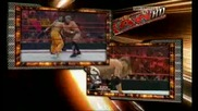 Raw 06/29/09 Chris Jericho & Edge vs Primo & Carlito [ Unified tag team Championship ]