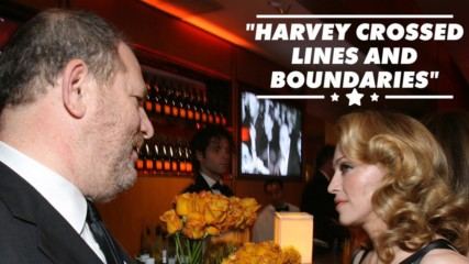 Madonna admits Harvey Weinstein was sexually flirtatious with her