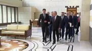 Syria: Assad meets with Russian president's envoy Lavrentiev to discuss Syrian refugees' return