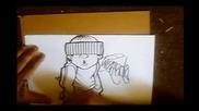 как да нарисуваме graffiti Characters