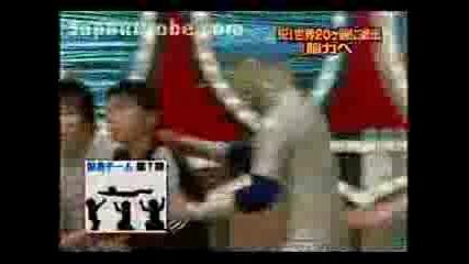 Японски Игри - Човешки Тетрис