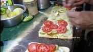 Бърза Храна на улицата .. How To Make Butter Veg Sandwich - Mumbai Street Food