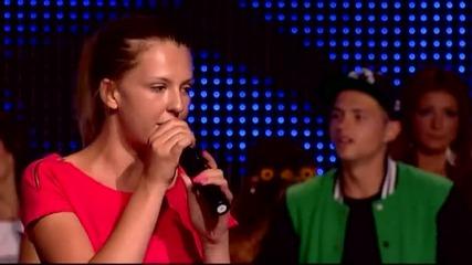Люба Илиева - X Factor (09.10.2014)