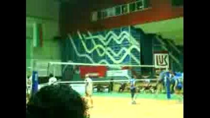 Волейбол: Лукойл - Пирин (загрявка)