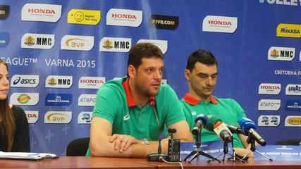 Пл. Константинов : Надяваме се да спечелим всички мачове във Варна