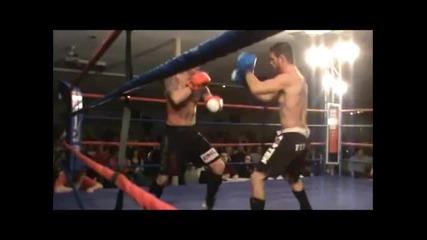 Боец се пребива на ринга без да го докоснат