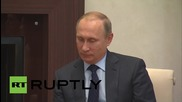"Russia: ""The world needs Russia"" - Sarkozy tells Putin"
