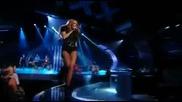 Майли Сайръс в Великобритания търси талант - Cant be tamed Live ( H D )